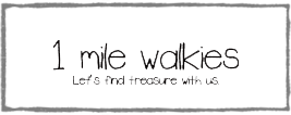 1 mile walkies